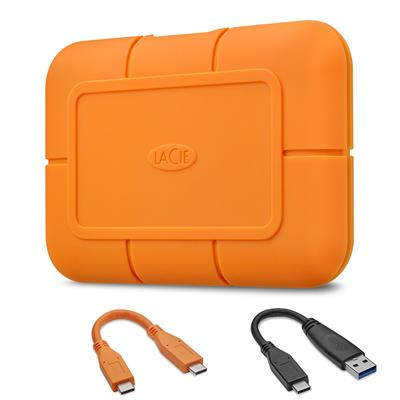 STHR1000800 Disco SSD NvME LaCie Rugged 1TB - USB-C 3.1