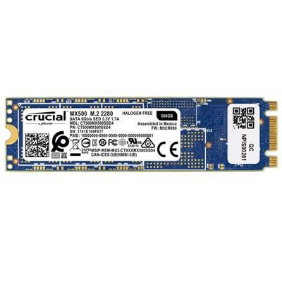 M.2 SSD 500GB CRUCIAL - 2280 - SATA III