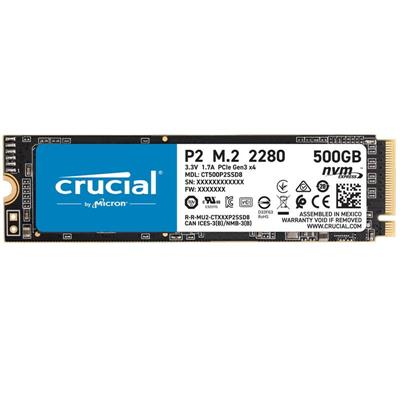 M.2 SSD 500GB CRUCIAL - 2280 - NVMe PCIe