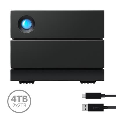 STHJ4000800 Disco LaCie 2Big 4TB (2x2TB) USB-C 3.1