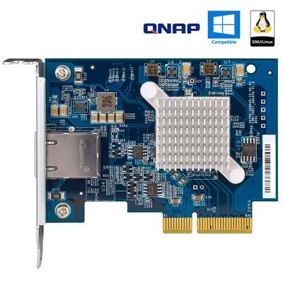 Placa NIC 1x RJ45 10GbE 10GBASE-T - PCIe - QNAP QX