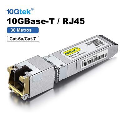 Modulo SFP+ 10G 30Mts 10GBase-T RJ45 1.25G-10G ARUBA