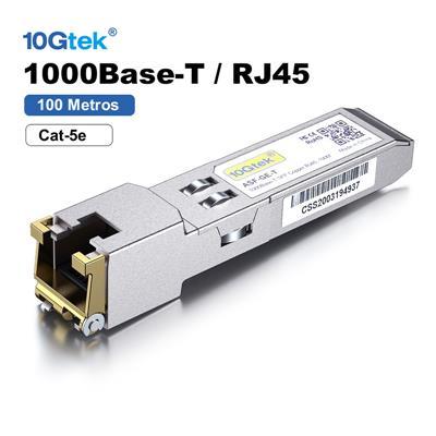 Modulo SFP 1.25G 100Mts 1000Base-T RJ45 1.25GbE JUNIPER