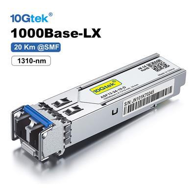 Modulo SFP 1.25G 20Km 1310nm 1000Base-LX SMF Duplex-LC OEM