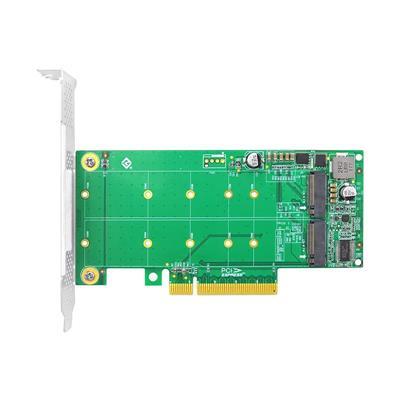 Placa PCIe X8 para 2xSSD M2 NVMe - 10GTEK NV95N8