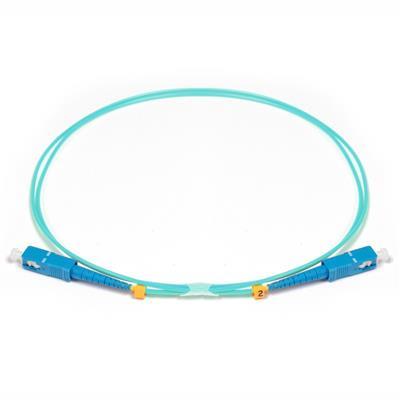 Cable 3 Metros Fibra OM3 SC-SC MMF 10Gb Simplex