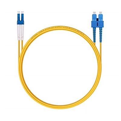 Cable 3 Metros Fibra OS2 SC-LC SMF Duplex