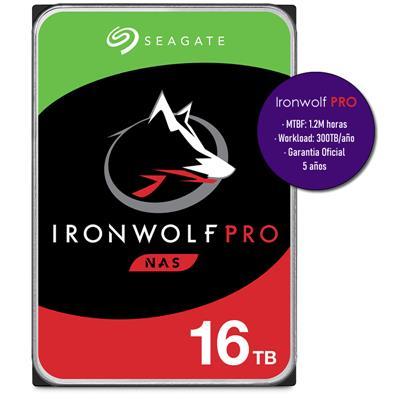 HDD 16TB SG IRONWOLF **PRO** NE000 256MB 7200RPM
